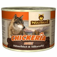 Wolfsblut Chickeria Adult Hühnerfleisch & Süßkartoffel
