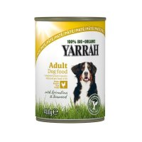 Yarrah 100% Bio Organic Paté Huhn mit Meeresalgen & Spirulina in Soße