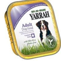 Yarrah 100% Bio Organic Paté Truthahn mit Aloe Vera