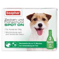 Beaphar Bio Spot On Tropfen für Hunde bis 15 kg