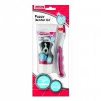 Beaphar Puppy Dental Kit (Paste & Brush)