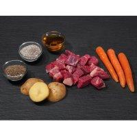 proCani Menü frisch & fertig Rind, Karotte und Kartoffel