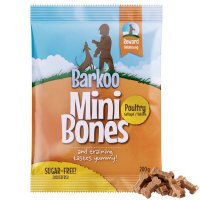 Barkoo Mini Bones Geflügel Dog Snack