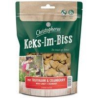 Christopherus Keks-Im-Biss mit Truthahn & Cranberry