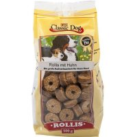 Classic Dog Rollis mit Huhn