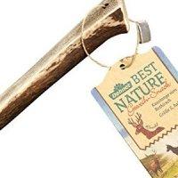 Dehner Best Nature Kaustange vom Rothirsch halb S
