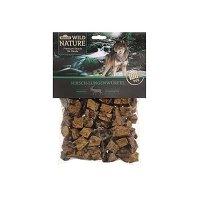 Dehner Wild Nature Hundesnack, Hirsch-Lungenwürfel, naturbelassen