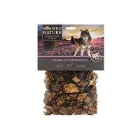 Dehner Wild Nature Hundesnack, Lamm-Lungenwürfel, naturbelassen