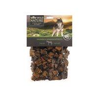 Dehner Wild Nature Hundesnack, Pferde-Lungenwürfel, naturbelassen