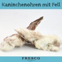 FRESCO Kaninchenohren mit Fell