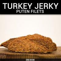 George and Bobs Turkey Jerky Puten Filets