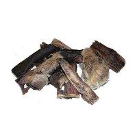 Grobys Futterkiste Fellstreifen Rinderkopfhaut mit Fell in ca. 15 cm Stücke geschnitten