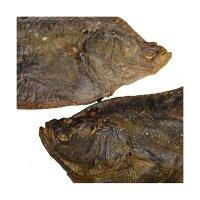 Grobys Futterkiste Fisch für Hunde getrocknet Flunder ganz