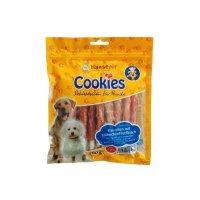 HansePet Cookies Kaurolle mit Hähnchenfiletstreifen