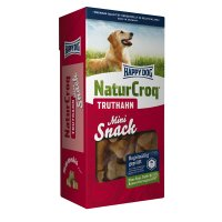 Happy Dog NaturCroq Mini Truthahn Snack