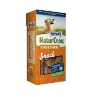 Happy Dog NaturCroq Rind & Dinkel Snack