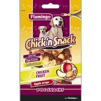 Karlie Flamingo Chick'n Snack Apple Wraps Chicken & Fruit