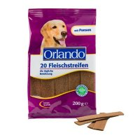 lidl orlando fleischstreifen mit pansen snacks hund g nstig im preisvergleich petadilly. Black Bedroom Furniture Sets. Home Design Ideas