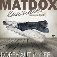 MATDOX Premium Rinderkopfhaut mit Fell