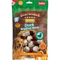Nobby StarSnack Barbecue Duck Knotted Bone