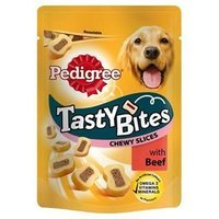 Pedigree Tasty Bites Chewy Slices with Beef
