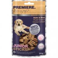 Premiere Junior Sticks Huhn & Rind