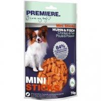 Premiere Mini Sticks Huhn & Fisch