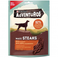 Purina Adventuros Maxi Steaks mit Büffel