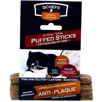 QCHEFS Dental-Vital PUFFED STICKS gepufft