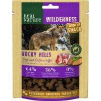 Real Nature Wilderness Crunchy Snack Rocky Hills Ziege mit Süßkartoffel