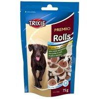 TRIXIE PREMIO Hühnchen & Seelachs Snack Rolls