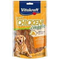 Vitakraft Chicken Veggie Karottenstick und Hühnchen-Sticks