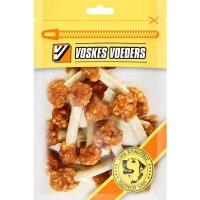 Voskes Voeders Hühner Knochen mit Reis