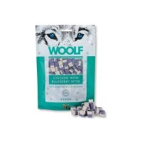 Woolf Hühnchenleckerlis mit Heidelbeeren
