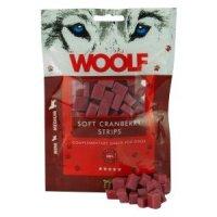 Woolf Soft Cranberry Stripes