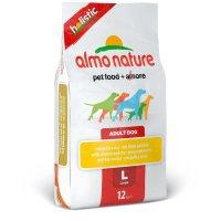 Almo Nature Holistic Large Huhn - Reis