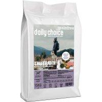 daily choice Grainfree Truthahn mit Kartoffeln und Erbsen