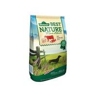 Dehner Best Nature Mini Adult, Rind und Lachs