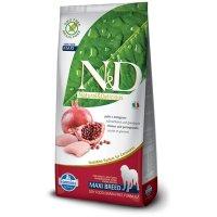 Farmina N&D Grain Free Chicken & Pomegranate Adult Maxi