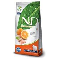 Farmina N&D Grain Free Fish & Orange Maxi Adult