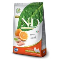 Farmina N&D Grain Free Fish & Orange Mini Adult