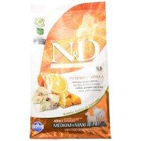 Farmina N&D Grain Free Pumpkin Formula Adult Medium/Maxi Codfish & Orange