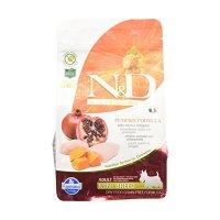 Farmina N&D Grain Free Pumpkin Formula Adult Mini Chicken & Pumpkin