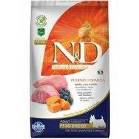 Farmina N&D Grain Free Pumpkin Formula Adult Mini Lamb & Blueberry
