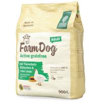 Green Petfood Farmdog Active grainfree Adult mit Tierschutz-Hühnchen & roter Linse