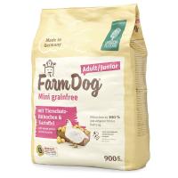 Green Petfood Farmdog Mini grainfree Adult/Junior mit Tierschutz-Hühnchen & Kartoffel