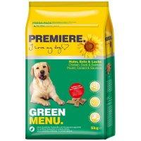 Premiere Green Menu Huhn, Ente & Lachs