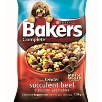 Purina Bakers Complete Adult Beef & Vegetables