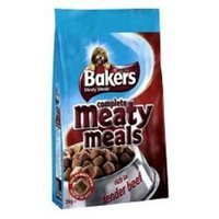 Purina Bakers Meaty Meals Adult Beef