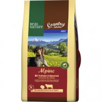 Real Nature Country Selection Adult Alpine mit Truthahn & Alpenrind